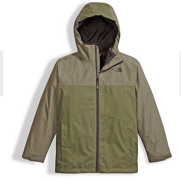21d46de5b North Face Boys Chimborazo Tri-Climate Jacket NWT NWT